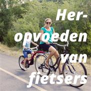Heropvoeden van fietsers