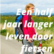Een half jaar langer leven door fietsen