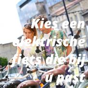 Kies een elektrische fiets die bij u past