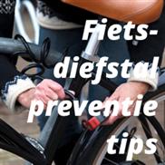 Fietsdiefstal preventie tips