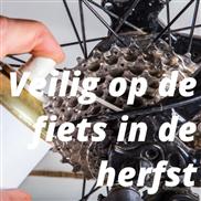 Veilig op de fiets in de Herfst