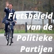 Het fietsbeleid van verschillende politieke partijen