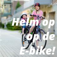 Helm op op de E-bike!