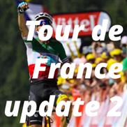 Tour de France update 2