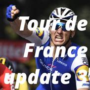 Tour de France update 3