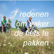 7 redenen om vaker de fiets te pakken