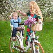 Gezellig fietsen met het gezin