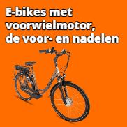 De voor- en nadelen van een elektrische fiets met voorwielmotor