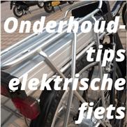 Onderhoudstips elektrische fiets