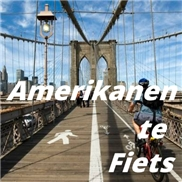 Amerikanen te fiets