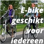 E-bike geschikt voor iedereen