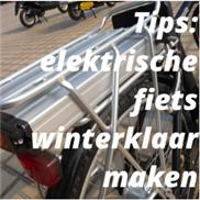 Tips: elektrische fiets winterklaar maken