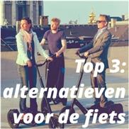 Top 3: alternatieven voor de fiets