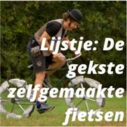 Lijstje: De gekste zelfgemaakte fietsen