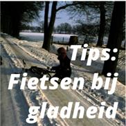Tips: Fietsen bij gladheid