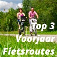Top 3 voorjaar fietsroutes