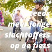 Steeds meer jonge slachtoffers op de fiets